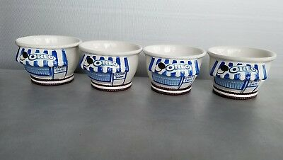 Oreo Cookie Ice Cream /Soup /Cereal Bowl - Set of 4