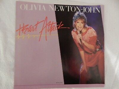 "Olivia Newton-John ""Heart Attack"" Picture Sleeve!"