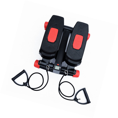 Mini Stepper Gym Exercise Leg Thigh Toning Workout Fitness Stair Arm Cord