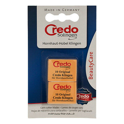 Credo Replacement Corn Cutter Blades 2-Pack of 10 by Solingen