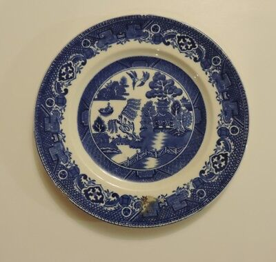 "Alfred Meakin Blue Willow 10"" Dinner Plate"
