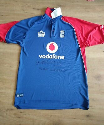 Best Wishes Ben Stokes Signed Cricket Shirt. Adults Shirt Good Condition.