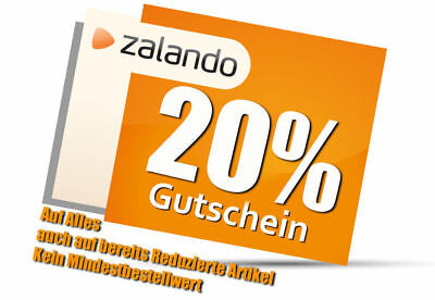 zalando gutschein 20 auf alles code rabatt sale eur 5 45 picclick de. Black Bedroom Furniture Sets. Home Design Ideas