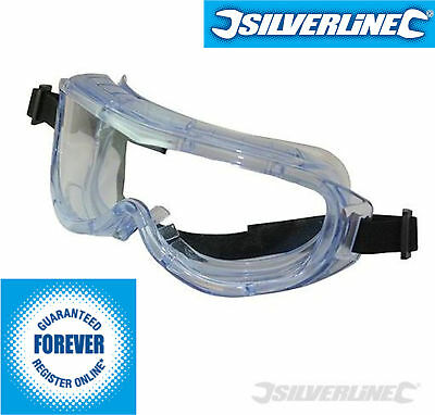 Safety Goggles Blue Tinted Polycarbonate Anti-Impact / Scratch Clear Lens En166