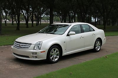 2007 Cadillac STS Luxury One Owner Perfect Carfax Heated and Cooled Seats Moonroof Michelin Tires