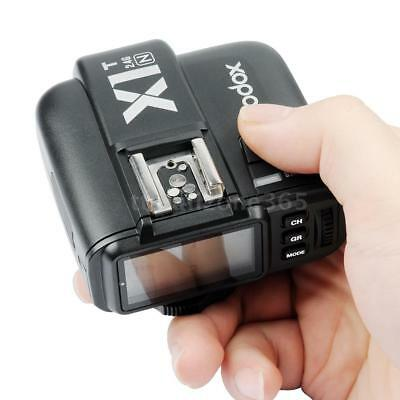 Godox X1T-N TTL 2.4G Wireless Flash Trigger Transmitter for DSLR Nikon X1A3
