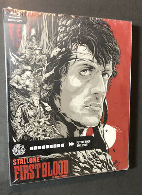 First Blood [ Limited STEELBOOK Edition ] (Blu-ray Disc) NEW