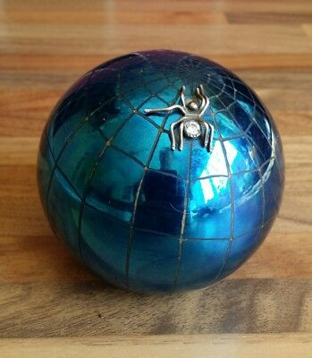 Signed Ditchfield Spider paperweight