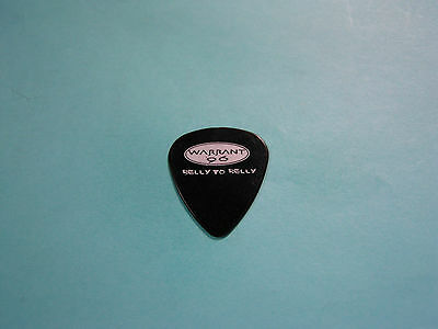WARRANT. Genuine guitar pick / plectrum.