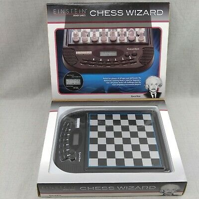Excalibur Einstein Chess Wizard Electronic Chess ~ Model 5351 Tested & Working