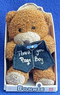 Thank-You Page Boy - Bear - Plush - Boxed - Gift