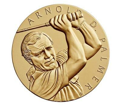 Arnold Palmer 1.5 Inch Bronze Medal Straight from the U.S. Mint - Still in OGP