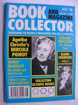 BOOK & MAGAZINE COLLECTOR Aug 1996 No 149 Hercule Poirot Leon Garfield Olympics