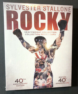 Rocky Heavyweight Collection [ 40th Anniversary Edition ] (Blu-ray Disc) NEW