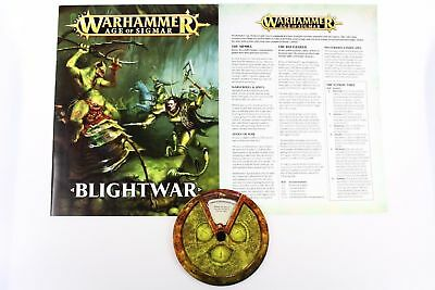 Age of Sigmar: Blightwar - Rulebook and Wheel of Corruption New & Unused
