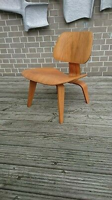Eames lcw lounge chair 5:2:5 evans herman miller