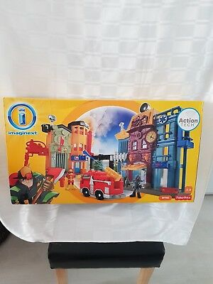 Fisher Price Imaginext Rescue Centre With Action Tech And Firefighter