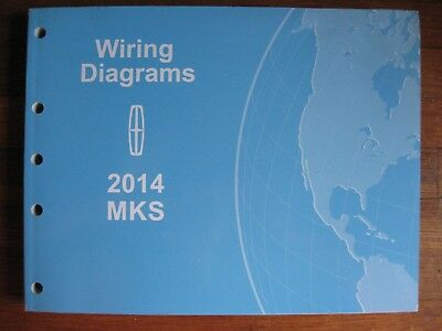2014 lincoln mks electrical wiring diagram service manual