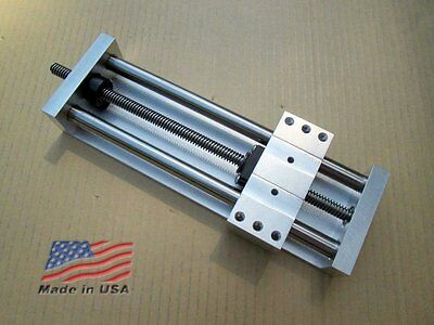 """Z Axis 5.75"""" + Fast-Travel + + ANTI-BACKLASH + Linear Slide CNC Laser Actuator"""