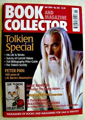 BOOK & MAGAZINE COLLECTOR Jan 2004 238 Tolkien Special Peter Pan Daisy Ashford