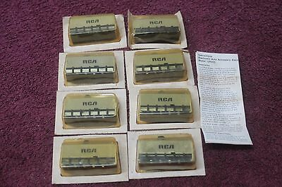 Lot of (6) RCA ELECTRONIC AUTO ACCESSARY ALARM MODEL 12R450 NOS w/INSTRUCTIONS