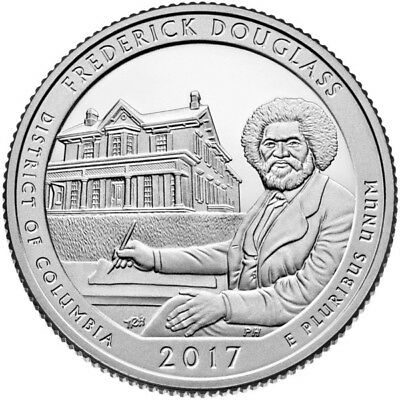 Frederik Douglass - US National Park Quarter 2017 D Mint