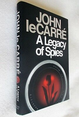 JOHN LE CARRE, SIGNED 1st British Edition, A Legacy of Spies, New, Viking
