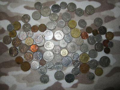 1lb Mixed World Coin Lot Collecting Craft Education Art