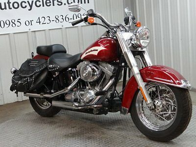 2006 Harley-Davidson Softail  2006 HARLEY DAVIDSON HERITAGE SOFTAIL FLSTI FLST I SALVAGE LIGHT DAMAGE CHEAP