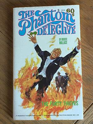 The Phantom Detective - The Forty Thieves - Robert Wallace - Corinth No.20