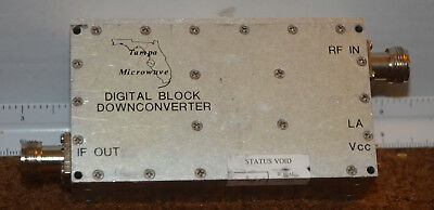 Tampa Microwave Block Down Converter 6 Ghz BDC-5300-NS