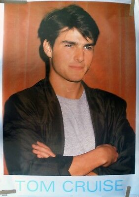Rare Tom Cruise 1987 Vintage Original Pin Up Poster