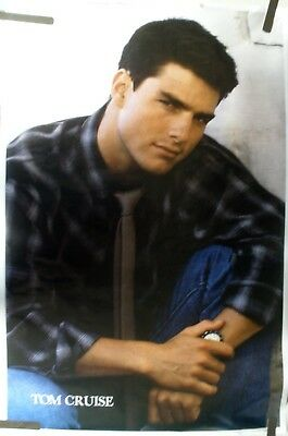 Rare Tom Cruise 1989 Vintage Original Pin Up Poster