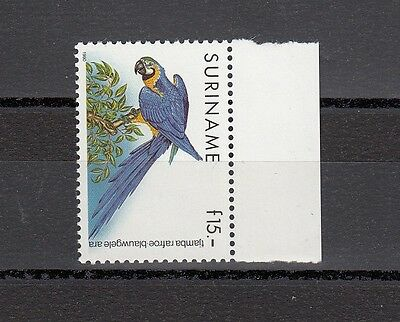 Timbre Stamp  1  Surinam  Y&t#1211 Oiseau Perroquet Neuf**/mnh-Mint 1990 ~A56
