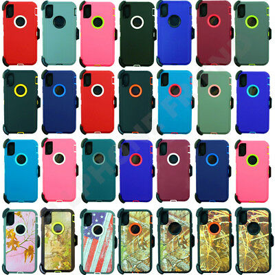 For Apple iPhone XR / XS Max Heavy Duty Case w/ Belt Clip fits Otterbox Defender