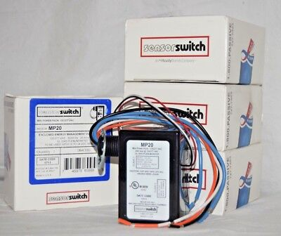 Lot Of 4 SensorSwitch MP20 Mini Power Pack 120/277VAC