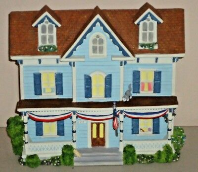 CAPE MAY CLASSIC Victorian House Shelf Sitter Wall Hanger Home Decor DejaVu NJ