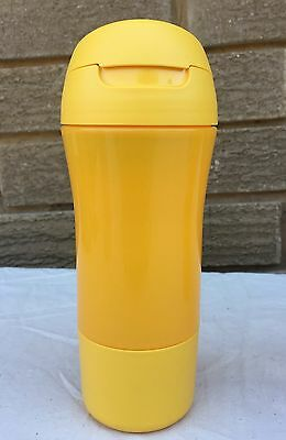 Tupperware Kids 400ml Fast Quench Drink Bottle in 2 colours - Yellow and Blue