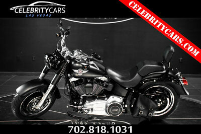 Harley-Davidson FLSTFB Softail Fat Boy 2013 Harley Davidson Softail Fat Boy Matte Black 2k miles ! showroom condition