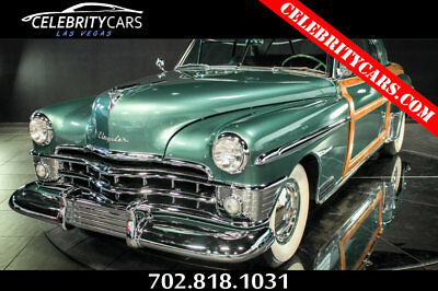 1950 Chrysler Town & Country  1950 Chrysler Town and Country Newport Coupe 1 of 50 left! Las Vegas Woody