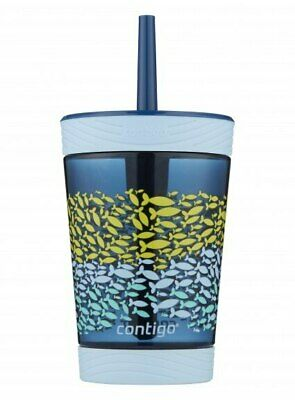 NEW Contigo Spill Proof Kids Tumbler - Nautical Fish from Baby Barn Discounts
