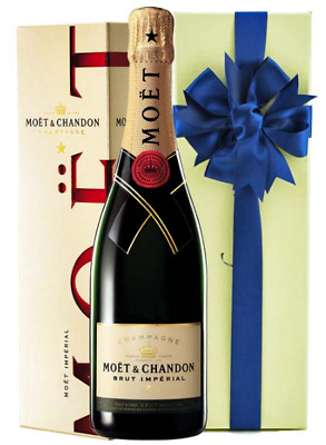 Moet & Chandon Imperial Brut Champagne Nv 750ml GIFT BOXED