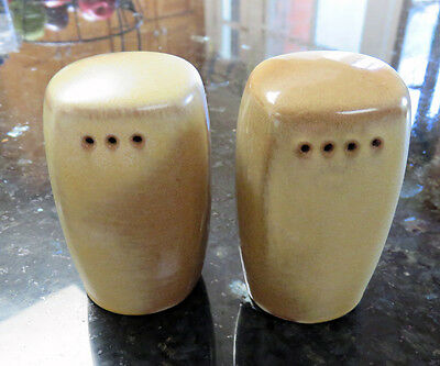 Desert Gold PLAINSMAN Salt & Pepper Shakers * Frankoma
