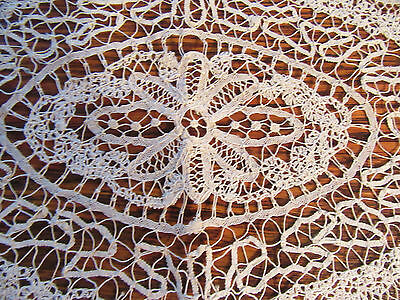 Antique Handmade Lace 3 Placemats w 2 Napkins - or Doilies