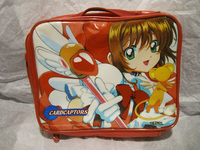 *Rare* Cardcaptor Sakura Lunch Bag by Thermos Vintage Carry Bag not Box