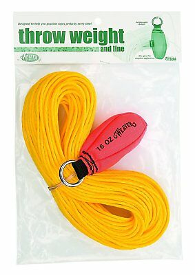Weaver Leather Throw Weight and Line Kit, Orange, 16 oz