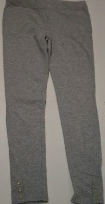 JUICY COUTURE Girls Grey Cotton Stretch Jerseywear Leggings Trousers Pants 12Y