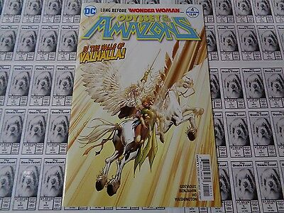 Odyssey of the Amazons (2016) DC - #4, Before Wonder Woman, Grevioux, NM-