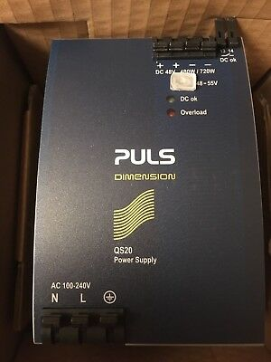 Puls QS20.481 48-55V DC Automation Power Supply 100-240V QS20 free shipping