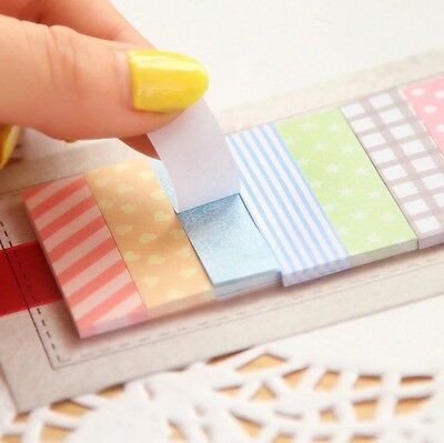 Sticky Note Pad. 160 Pages - Cute!
